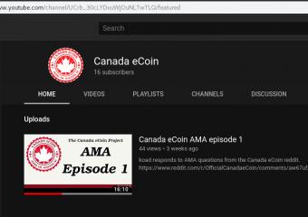 CDN] Canada eCoin – A bitcoin-like blockchain based